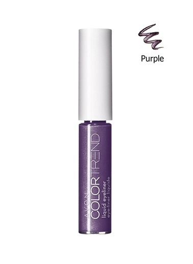 Avon Color Trend Likit Eyeliner Purple Mor